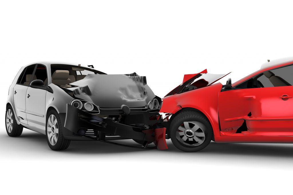 Handling repairs from a vehicular crash